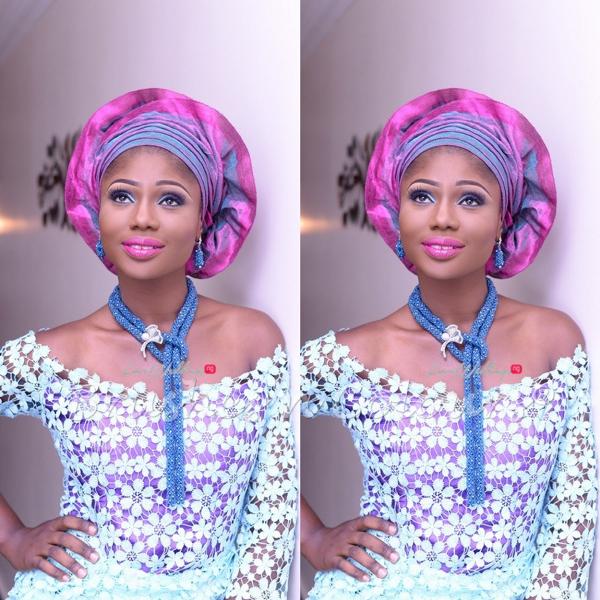 Nigerian Traditional Bride Brushes n Colors LoveweddingsNG1