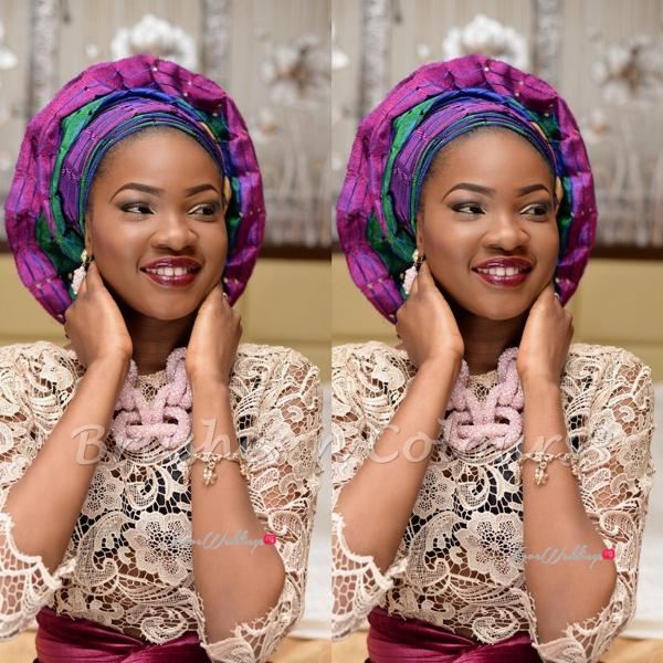Nigerian Traditional Bride Brushes n Colors LoveweddingsNG10