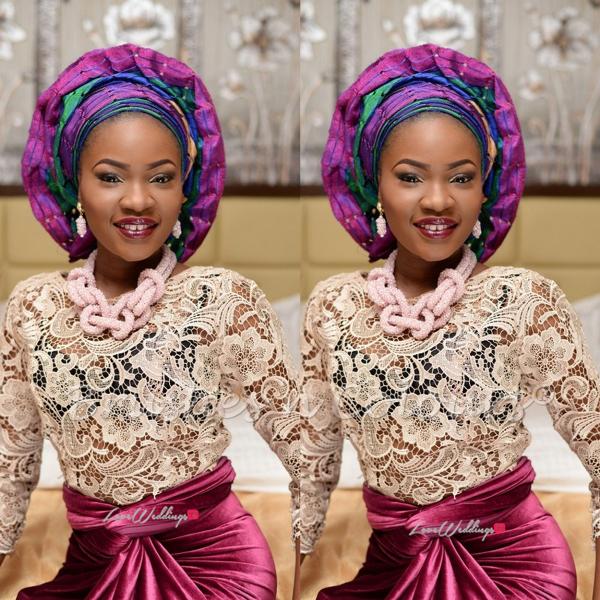 Nigerian Traditional Bride Brushes n Colors LoveweddingsNG11