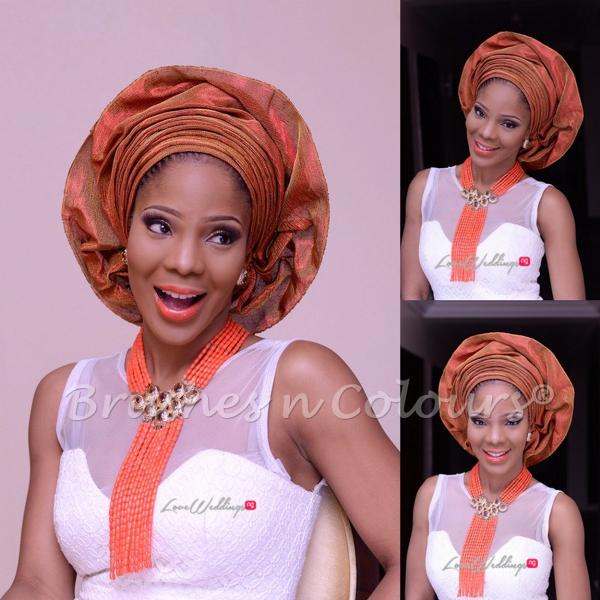 Nigerian Traditional Bride Brushes n Colors LoveweddingsNG13