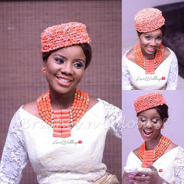 Nigerian Traditional Bride Brushes n Colors LoveweddingsNG18