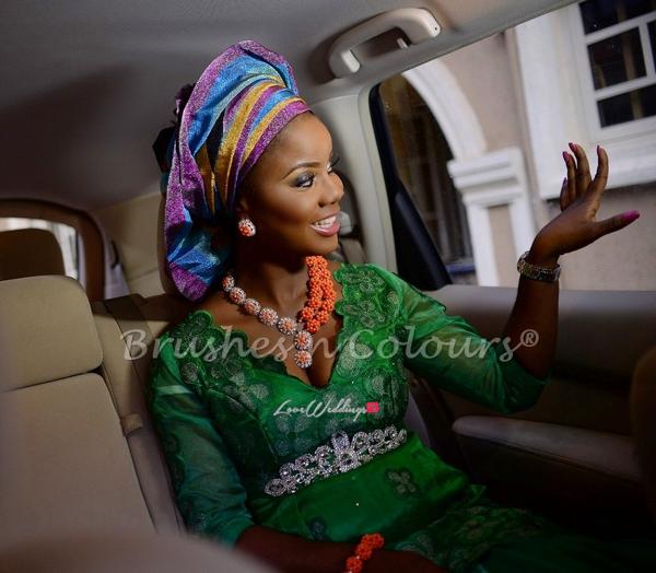 Nigerian Traditional Bride Brushes n Colors LoveweddingsNG19