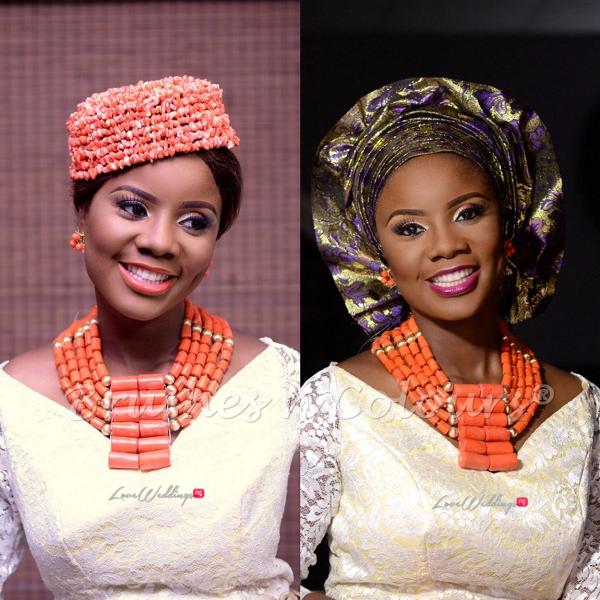 Nigerian Traditional Bride Brushes n Colors LoveweddingsNG23
