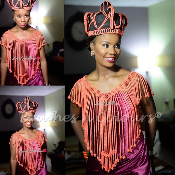 Nigerian Traditional Bride Brushes n Colors LoveweddingsNG24