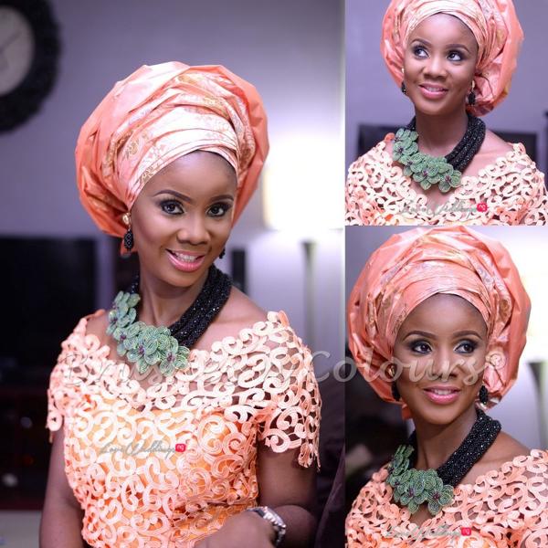 Nigerian Traditional Bride Brushes n Colors LoveweddingsNG25