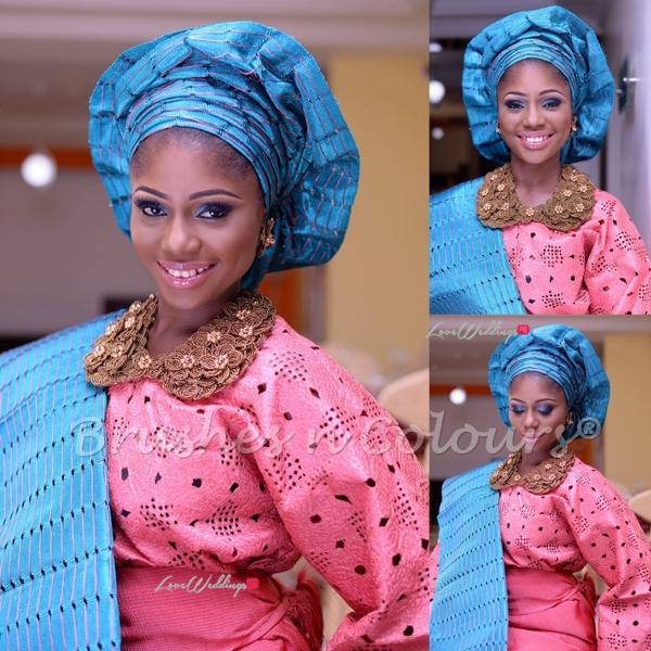 Nigerian Traditional Bride Brushes n Colors LoveweddingsNG4
