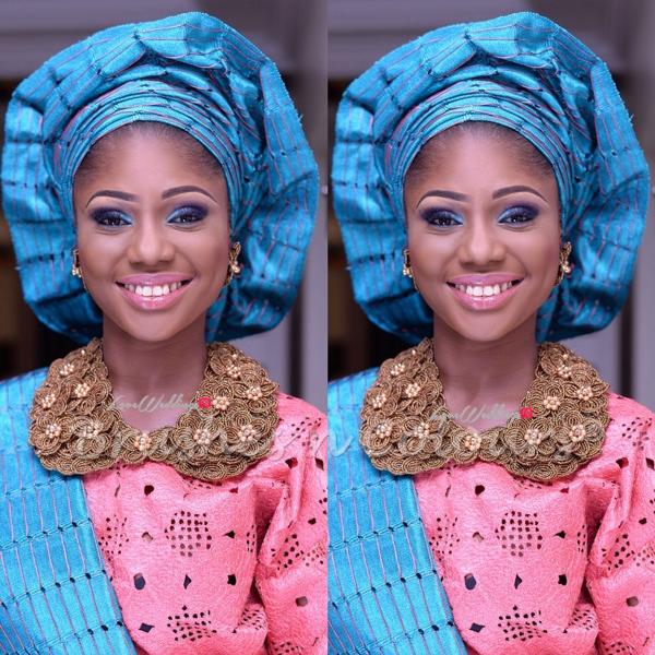 Nigerian Traditional Bride Brushes n Colors LoveweddingsNG5