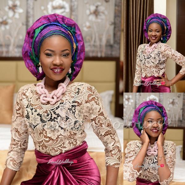 Nigerian Traditional Bride Brushes n Colors LoveweddingsNG9