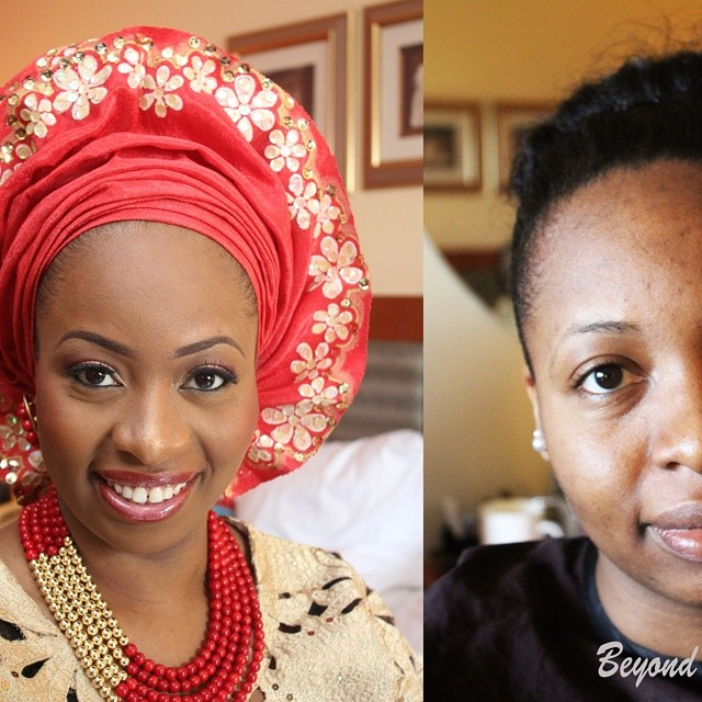 Nigerian Traditional Makeup - Beyond Faces Makeup LoveweddingsNG