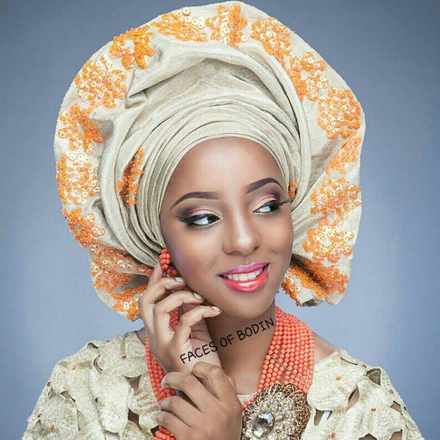 Nigerian Traditional Makeup - Faces of Bodin LoveweddingsNG