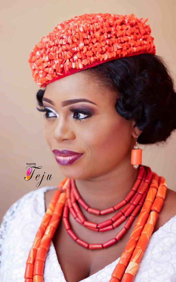 Nigerian Traditional Makeup - Makeover by Teju LoveweddingsNG