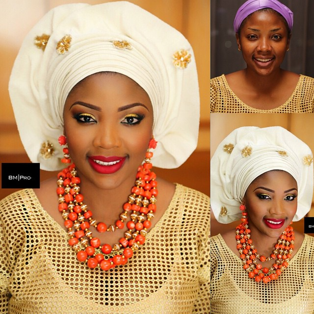 Nigerian Traditional Wedding Makeup - BMPro LoveweddingsNG