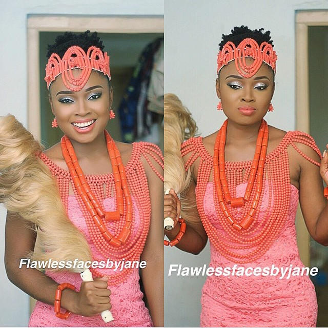 Nigerian Traditional Wedding Makeup - Flawless faces by Jane LoveweddingsNG