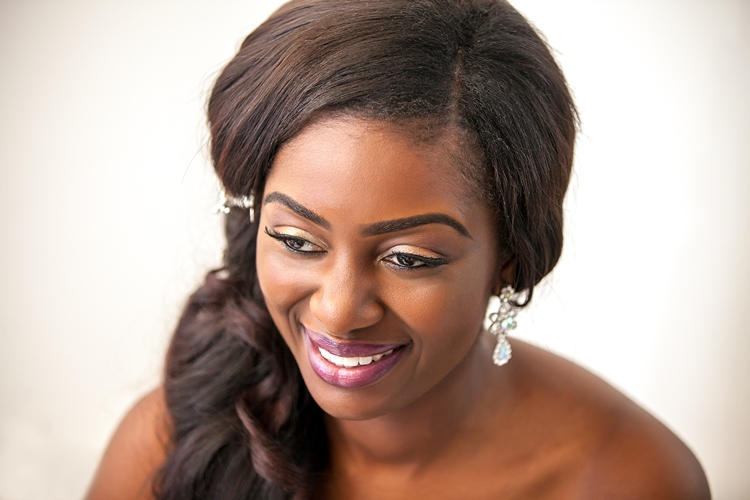 Nigerian White Wedding Makeup - Adiva Forever LoveweddingsNG