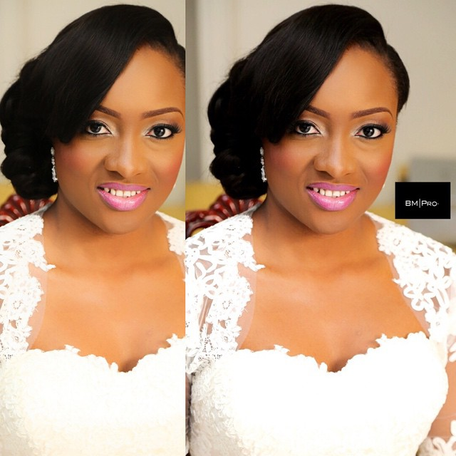 Nigerian White Wedding Makeup - BMPro LoveweddingsNG