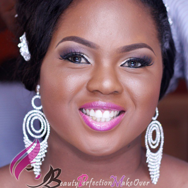 Nigerian White Wedding Makeup - Beauty Perfection Makeover LoveweddingsNG
