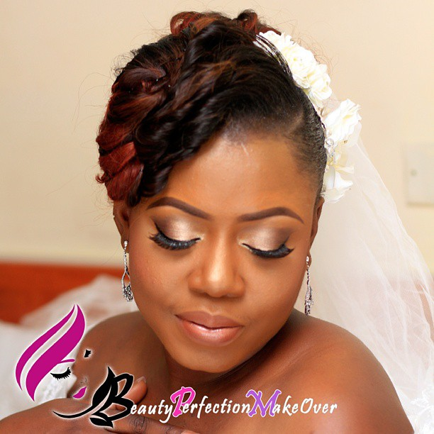 Nigerian White Wedding Makeup - Beauty Perfection Makeover LoveweddingsNG1
