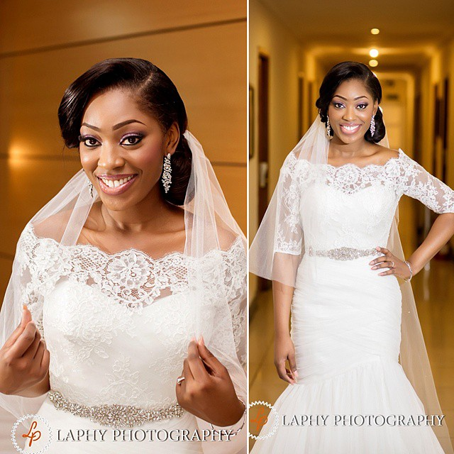 Nigerian White Wedding Makeup - Beauty and the Beholder Makeovers LoveweddingsNG