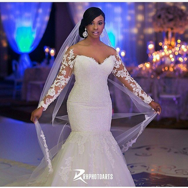 Nigerian White Wedding Makeup - Color Du Jour LoveweddingsNG