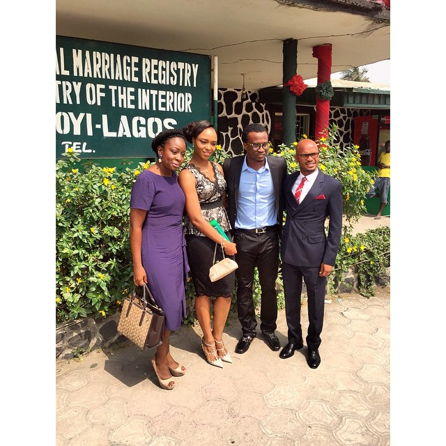 Paul and Anita Okoye ikoyi Registry LoveweddingsNG6