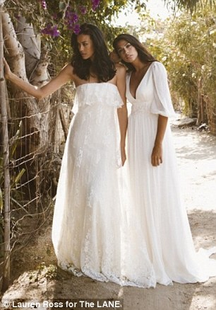 The Lane Bridal Wear - Megan Gale and Pia Miller LoveweddingsNG4