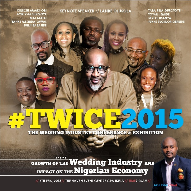 The Wedding Industry Conference and Exhibition - TWICE 2015 LoveweddingsNG