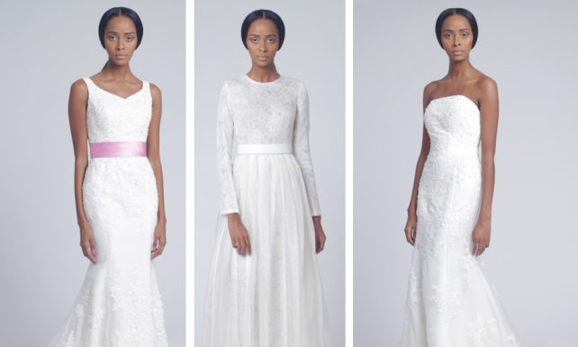 Tsemaye Binitie Atelier Bridal 2015 Capsule Collection LoveweddingsNG feat