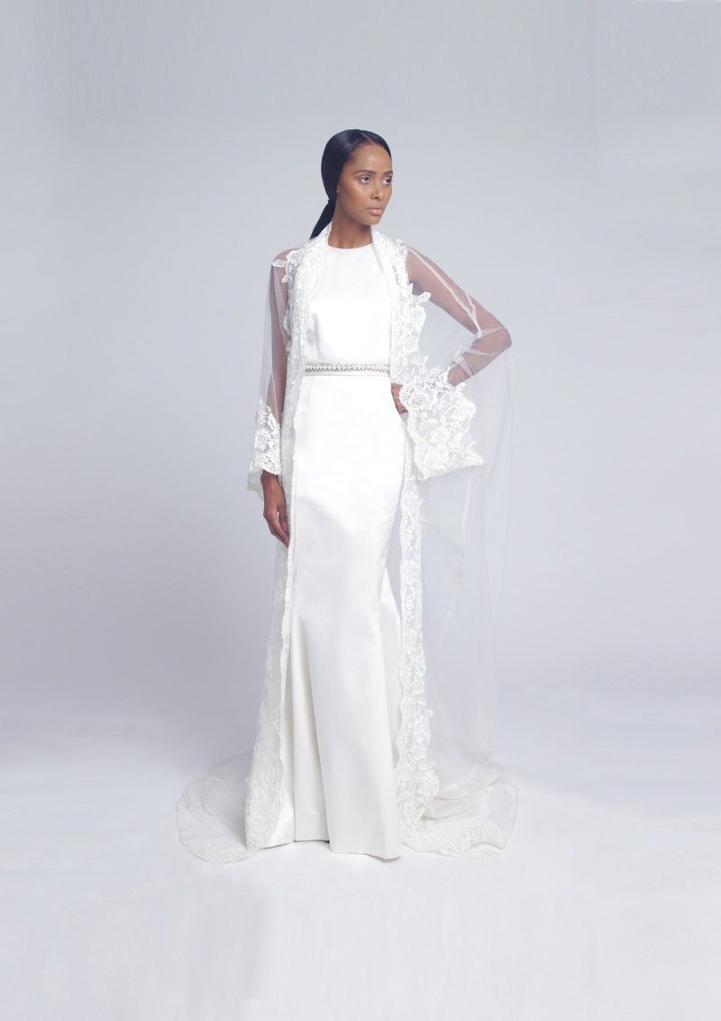 Tsemaye Binitie Atelier Bridal 2015 Capsule Collection LoveweddingsNG1