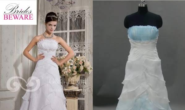 Wedding Dresses Ordered Online vs. What Was Delivered