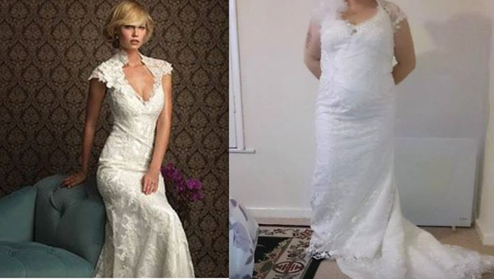 Wedding Dress - What You Ordered vs What Came5