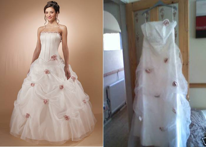 Wedding Dress - What You Ordered vs What Came9