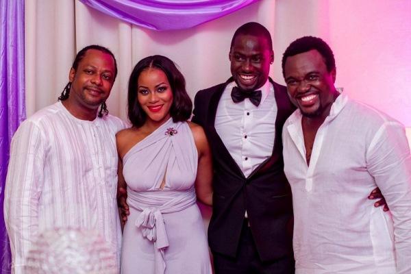 Chris Attoh Damilola Adegbite Wedding LoveweddingsNG23