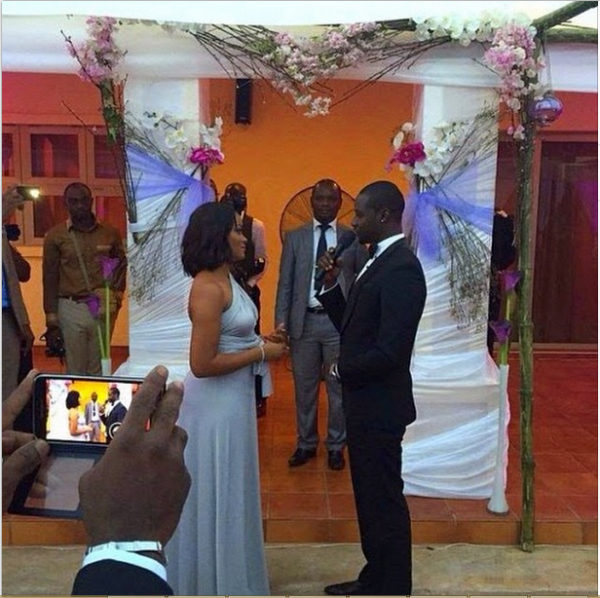 Chris Attoh Damilola Adegbite Wedding Pictures LoveweddingsNG