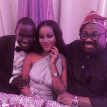 Chris Attoh Damilola Adegbite Wedding Pictures LoveweddingsNG3