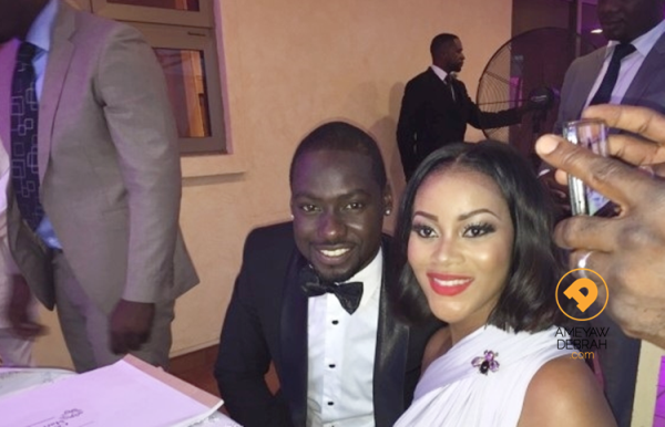 Chris Attoh & Damilola Adegbite Wed On Vals Day in Accra