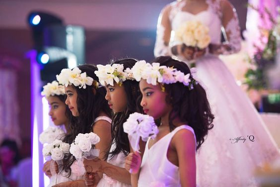 Little Children at Nigerian Weddings Affinity Q Photography LoveWeddingsNG