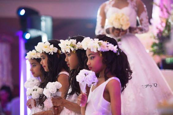 Little Children at Nigerian Weddings Affinity Q Photography LoveWeddingsNG