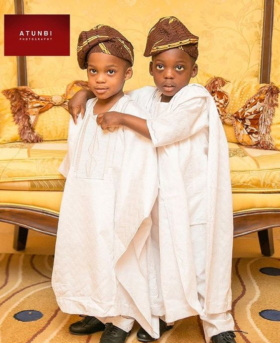 Little Children at Nigerian Weddings Atunbi Photography LoveWeddingsNG