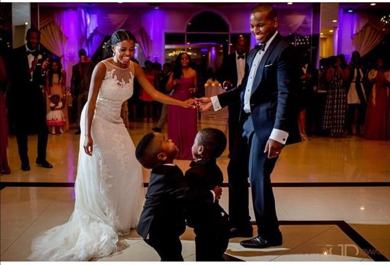 Little Children at Nigerian Weddings Joshua Dwain LoveWeddingsNG