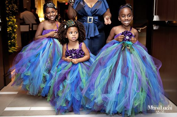 Little Children at Nigerian Weddings Munaluchi Bride LoveWeddingsNG