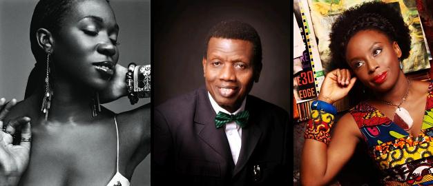 LoveweddingsNG India Arie, Pastor EA Adeboye, Chimamanda Ngozi Adichie