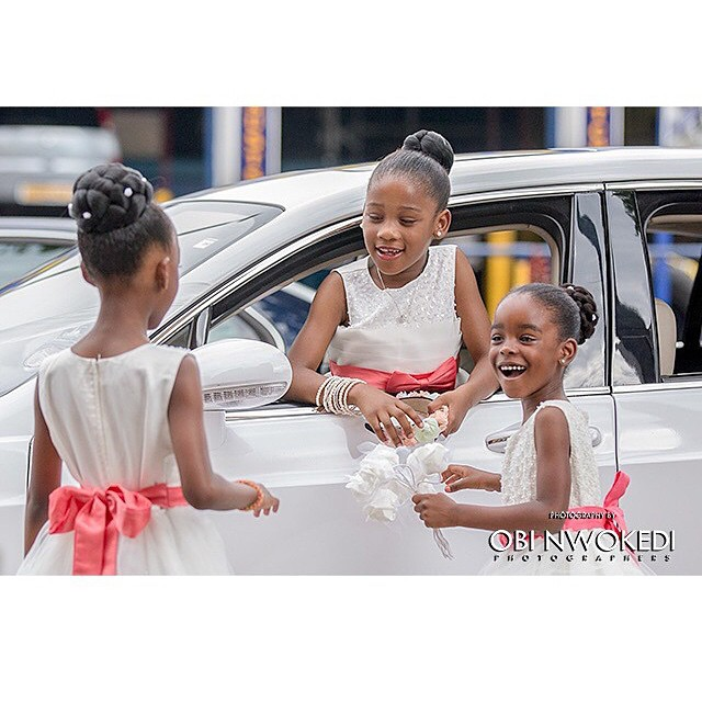 LoveweddingsNG Little Bride - Obi Nwokedi Photographers