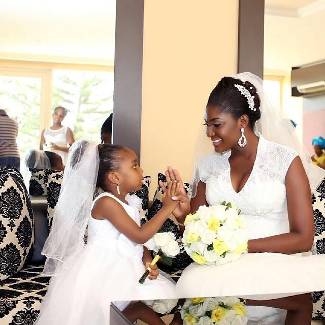 LoveweddingsNG Little Bride - Spaco media