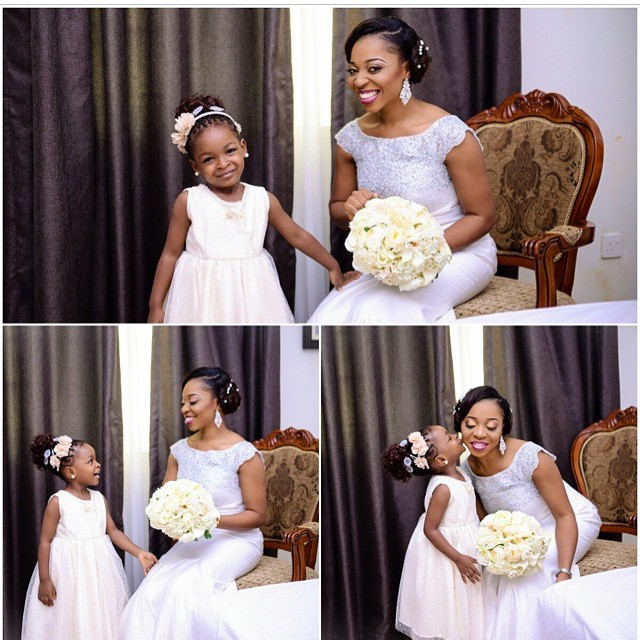 Loveweddingsng Little Bride The Debola Styles