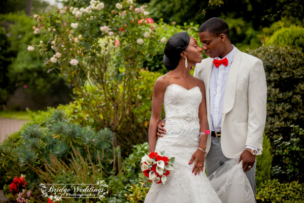 LoveweddingsNG White Wedding Deji and Hannah