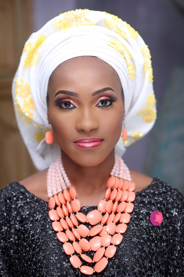 Nigerian Bridal Inspiration - Makeup by Ashabee LoveweddingsNG4