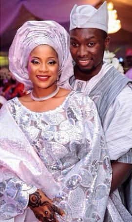 Teslima Omisore & Luqman Alao LoveweddingsNG1