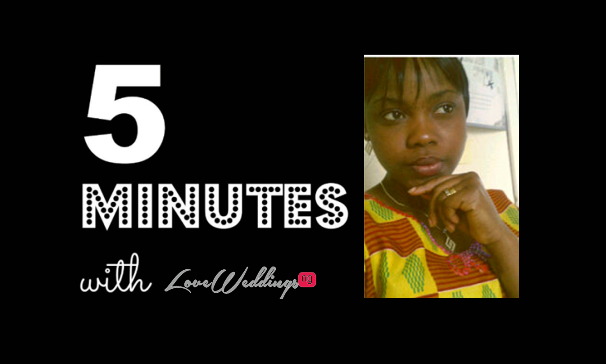 5 minutes with Ifedolapo Hadassah Bridals LoveweddingsNG