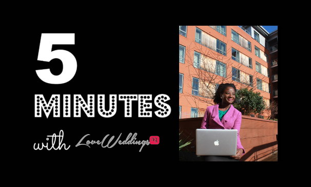 5 Minutes with… Seyi | LoveweddingsNG