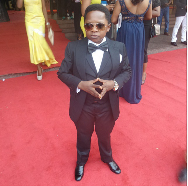 AMVCA 2015 - Chiedu Ikedieze LoveweddingsNG Red Carpet to Aisle